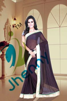Brown Coffee Sarees online @ Rs. 1650