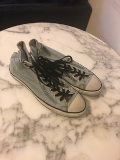 3bf6a6f7ce63 Men s denim converse shoes size 9  fashion  clothing  shoes  accessories   mensshoes  athleticshoes (ebay link)