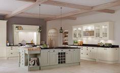 Image result for sage green kitchens