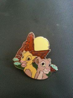 Simba and Nala Disney Movie Rewards Disney Pin