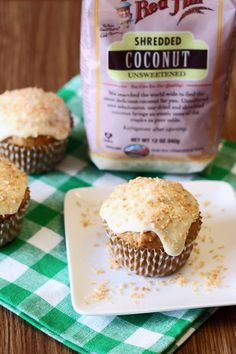Sarah Bakes Gluten Free Treats: gluten free vegan carrot coconut morning glory muffins