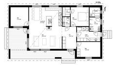 Sweet Home, Floor Plans, Model, House Beautiful, Scale Model, Models, Template, Floor Plan Drawing
