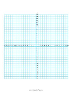 Practice Your Graphing With This Printable 20 x 20 Grid ...