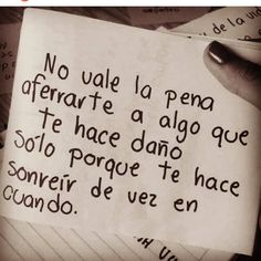 Image about phrases in pensamientos de kaycee 2017 by Sad Quotes, Love Quotes, Inspirational Quotes, Motivational, Ex Amor, Quotes En Espanol, Sad Love, More Than Words, Spanish Quotes