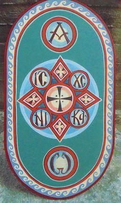 Cross Designs, Christian Art, Byzantine, Crosses, Fresco, Baroque, Diy And Crafts, Creative, Inspiration