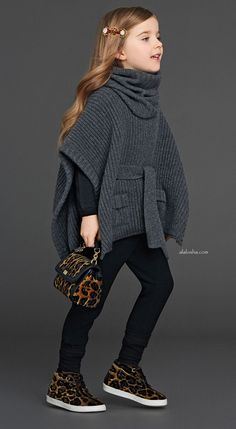 Meet a roaring fall with ‪#‎DolceGabbana‬ ensemble: tweed + leopard