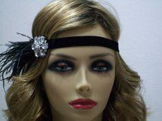 década de 1920 la moda flapper gran Gatsby por bloomsfromtheheart