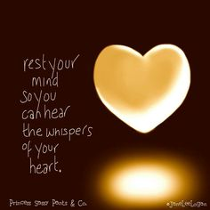 Whispers of your heart