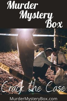 One-time mysteries available. No internet needed, everything you need to solve the case is in the box. . . . . #mystery #clue #detective #investigate #freeshipping #murdermystery #evidence
