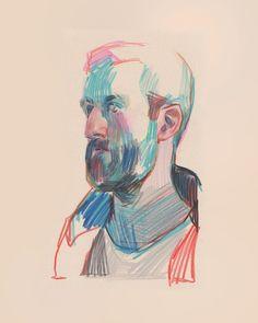16.2 тыс. отметок «Нравится», 76 комментариев — aryz (@mr_aryz) в Instagram: «Bothered brother Color pencil on paper, 2016 #aryz #drawing»
