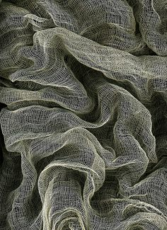 Texture, by Theresa Thompson, via Flickr  This is so cool its like a cross between smoke and like a canvas type of fabric.