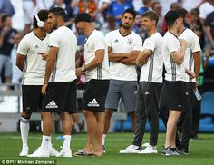 The Germans always find a way to get it done, don't they? Not this time. Here at the Stade Velodrome, the serial achievers of European football found a way only to a departure lounge for home.