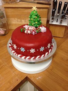 My Christmas cake design 2013