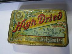Salmon-Gluckstein-High-Dried-brand-tobacco-tin-smoking-tobacco-early