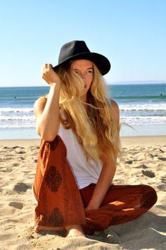 Rvca Beach pants. http://www.swell.com/Womens-Pants/RVCA-KNOCKIE-EMBROIDERED-PANT?cs=RU&utm_source=blog.swell.com&utm_medium=leah-0114&utm_campaign=0114
