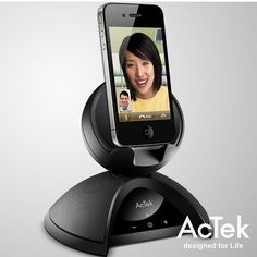 Video conferencing has never been easier or more real. When you use AcTek, you know you're getting the quality you deserve. #connecting #business #together #speakers #tech #technology #bluetooth #wireless