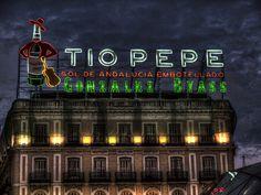 Tio Pepe by anpalacios Love Neon Sign, Neon Signs, Tio Pepe, Foto Madrid, Ap Spanish, Andalucia, San, Vacation, World
