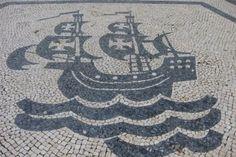 Roteiro mostra as simetrias da calçada portuguesa