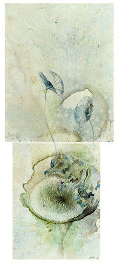 Title: Sea Study III, Size: 66 x panels). Medium: watercolour, drawing on board Watercolour, Art Ideas, Composition, Fox, Study, Paintings, Medium, Drawings, Board