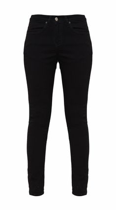 Look casual with Skinny Twill Stretch Pants High Waist by Lois Jeans. Pants with selection fabric material and skinny style, button and zipper, front and back pocket, stretchable, signature logo. Simply chic. Pants that will match your outfit perfectly.  http://www.zocko.com/z/JJVog