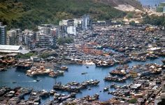 "Centuries ago, the boat city of Aberdeen Harbor was a haven for pirates, and the floating city itself hasn't changed much since then despite the ultra-modern skyscrapers that have sprung up around it. Aberdeen's ""boat people"" live here to escape the constraints of modern society, although many in mainland Hong Kong consider the boat city to be an eyesore."