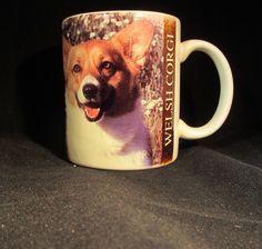 Welsh Corgi Vintage 1993 Coffee Cup Made in Thailand#welshcorgi#coffeecup#vintage