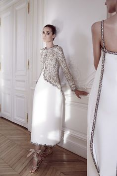 CHANEL Couture by YELENA YEMCHUK for VOGUE ITALY september issue