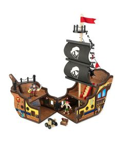 Order today in time for Christmas - Pirate Ship Set by KidKraft on #zulily today!