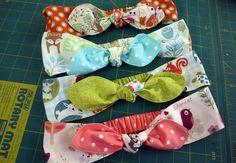 Free Pattern: Bow Headband | 7 Pine Design