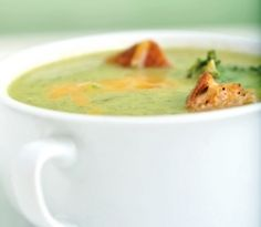 Broccoli and Cheese Soup.  Emeril's recipe is my fave.