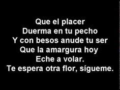 Patricia Tapia e Jose Andrea: El peso del alma. Letra en http://www.musica.com/letras.asp?letra=863353