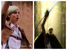Erwin Smith from Shingeki no Kyojin - one of the funniest and fav Cosplay I ever done!!