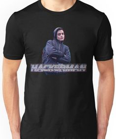 HACKERMAN -Mr Robot Unisex T-Shirt
