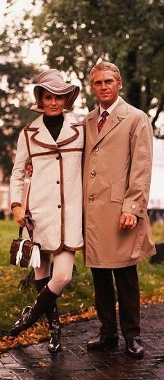 Faye Dunaway Steve McQueen