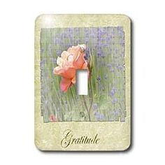 PS Flowers - Inspirational Romantic Gratitude Rose and Lavender Floral - Flowers - Light Switch Covers - single toggle switch by 3dRose, http://www.amazon.com/gp/product/B008HRVNG8/ref=cm_sw_r_pi_alp_7i79pb0QT7VAG