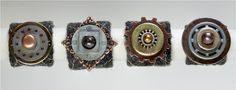 Berkshires Arts Festival Highlight : Nicky Ruxton http://www.berkshiresartsfestival.com/ #berkshiresAF #charm #craft #jewelry #metal #industrial