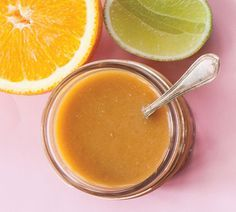 Super Dressing ½ cup each lime juice and orange juice 2 tbsp miso 1 tsp finely grated fresh ginger