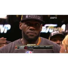 In the 4th Quarter of Game 7 in the NBA Finals LeBron James scored 11 points. The entire Warriors team scored 13. #DHTK #repre23nt #DONTHATETHEKING http://ift.tt/2c5Qozx