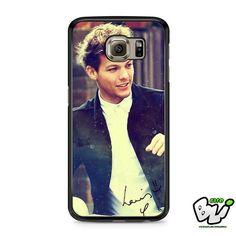 Hipster Louis Tomlinson Smile Samsung Galaxy S7 Case