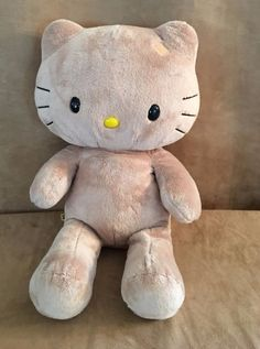 Build a Bear Tan Hello Kitty large plush stuffed animal BABW LE brown sunkissed #BuildaBear