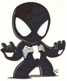 Chibi-Spider-Man 5. by hedbonstudios.deviantart.com on @deviantART