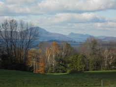 A great view of the mountains in NEK, Vermont