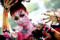 Bodypaint-festival in South-Korea...would love to go to this festival one day!