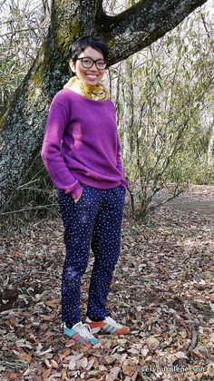 Lola woven pants by verypurpleperson, via Flickr