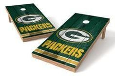 Green Bay Packers Single Cornhole Board - Vintage