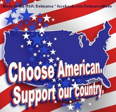 """Buy fresh, shop local and support """"Made in the USA"""". Find us on Google+ at https://plus.google.com/108258615228710912754"""