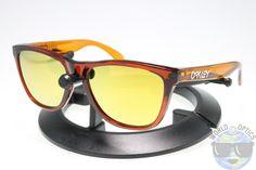 Oakley Frogskins Sunglasses OO9013-38 Moto Nitrous w/ 24K Iridium Lenses