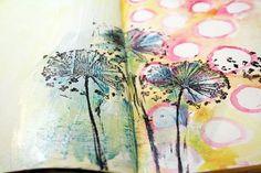 journaling techniques      Dandelions