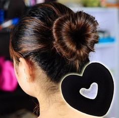 Find More Hair Accessories Information about hair band bun maker black creative lovely for Women Hair Accessories headwear holder bun bang DIY,High Quality Hair Accessories from China Rui International Trade Co., Ltd on Aliexpress.com