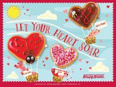 89259bd715d42 26 Best Krispy Kreme advertising and stuff images